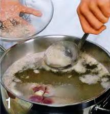Кололик, армянский суп приготовление