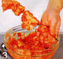 Красный шашлык из свинины приготовление