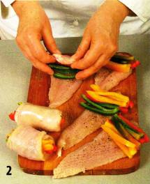 Куриные грудки с перцем приготовление