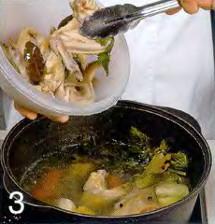 Куриный бульон приготовление