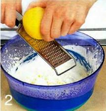 Лимонный семифредо с ягодным соусом приготовление