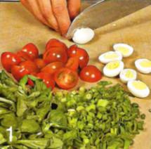 Лионский салат приготовление