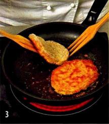 Ломтики телятины в панировке приготовление