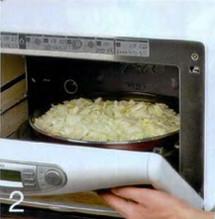 Луковый хлеб по-итальянски (в микроволновой печи) приготовление