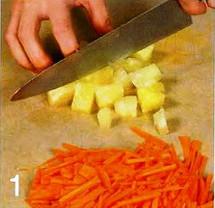 Морковно-ананасовый пирог приготовление