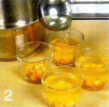 Морские гребешки с соком лайма в желе приготовление