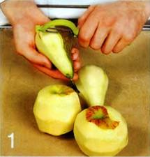 Оладьи из яблок и груш приготовление