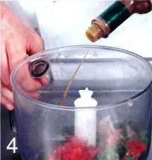 Оладьи с гуакамоле и креветками приготовление