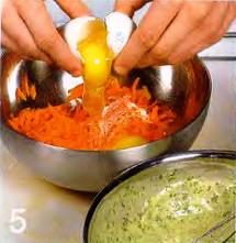 Овощные оладьи приготовление