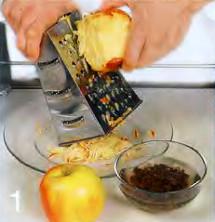 Овсянка с яблоком приготовление