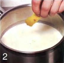 Паннакота с вишневым соусом приготовление