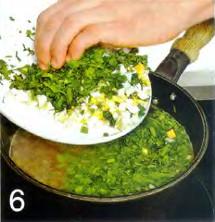 Партугальский зеленый суп приготовление