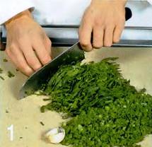 Пилав со шпинатом приготовление