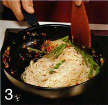 Рисовая лапша в пряной заправке приготовление