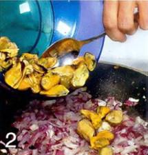 Рисовый салат с мидиями приготовление