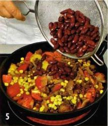 Рубленая говядина по-мексикански приготовление