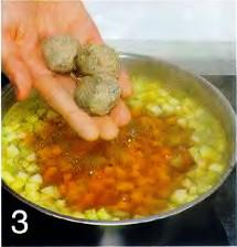 Рыбный суп с фрикадельками приготовление
