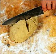Ржаной хлеб с изюмом приготовление