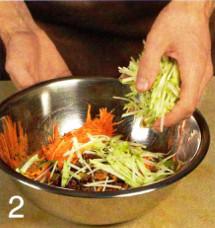Салат из моркови с яблоком приготовление