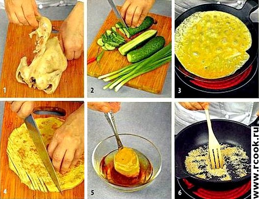 Салат с цыпленком и огурцами приготовление