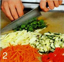 Салат из творога с гречкой приготовление
