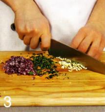 Салат из запеченных овощей приготовление