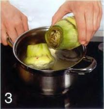 Салат с артишоками приготовление