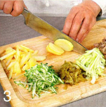 Салат с говяжьим языком приготовление
