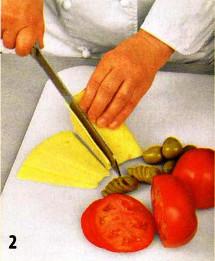 Салат с грейпфрутом и сыром приготовление