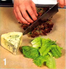 Салат с малиновой заправкой приготовление