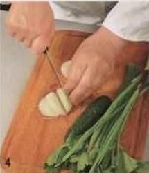 Салат с уткой приготовление
