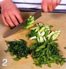 Салат со щавелем и картофелем приготовление