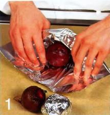 Салат со свекольной ботвой приготовление