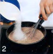 Шоколадный пудинг из манной крупы приготовление