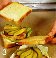 Сэндвич со свининой приготовление