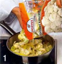 Суп-пюре из цветной капусты и брокколи приготовление