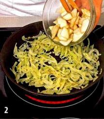 Сыр бри с грушево-ореховой прослойкой приготовление