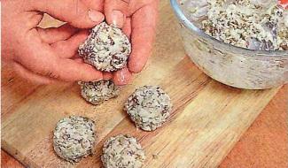 Сырные шарики приготовление