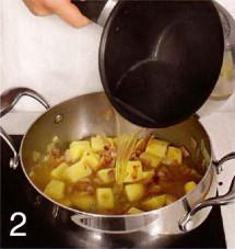 Сырный суп на пиве с гренками приготовление