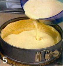 Торт с яичным кремом и виноградом приготовление