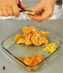 Торт с мандаринами приготовление