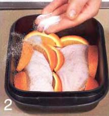 Утиная грудка в клюквенно-финиковом соусе приготовление