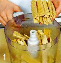 Вафельные клубнички приготовление