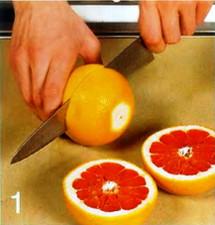 Запеченный грейпфрут приготовление