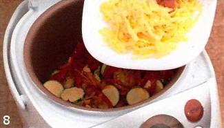 Запеканка овощная с сыром. Готовим в мультиварке приготовление