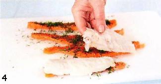 Завитки из красной и белой рыбы. Готовим в мультиварке приготовление