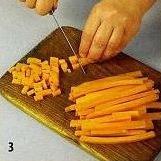 Цуккини с глазированной морковью приготовление