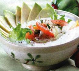 Суп холодный с авокадо
