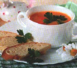 Суп-крем из моркови
