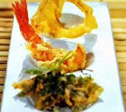 Темпура из морепродуктов